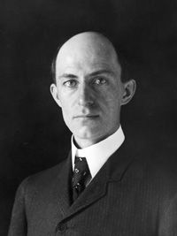 Wilbur Wright - inventor of the first effective airplane.