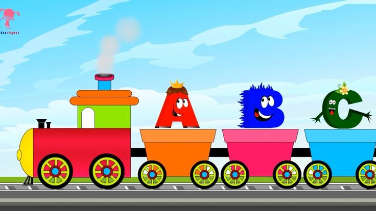 Abc Song for Children, Learn ABCD, Abc Song for Babies, ABC Train Song f...