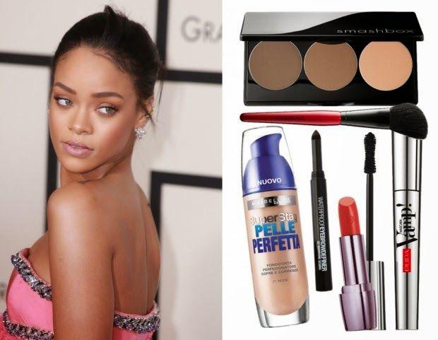 Mondo Donna: Copia il trucco di Rihanna: smokey eyes naturale e...