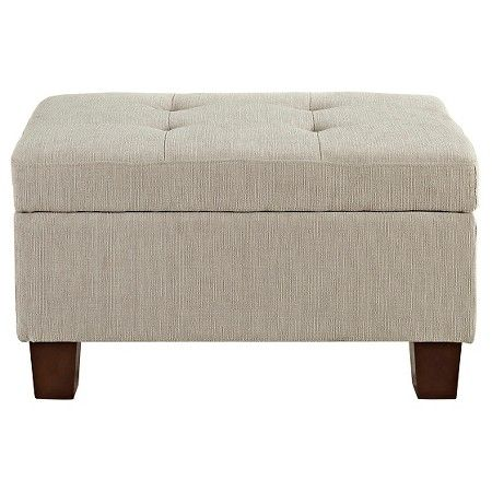 Felton Tufted Small Storage Ottoman - Threshold™ : Target