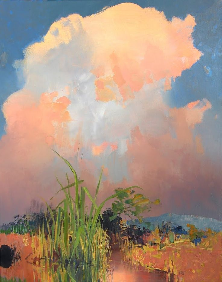 Wetlands painting: Randall David Tipton.