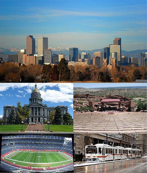 Top To Bottom, Left To Right: Denver Skyline, Colorado