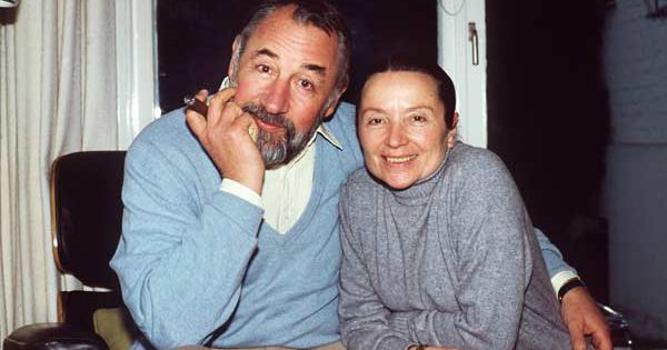 Philippe Noiret et Monique Chaumette