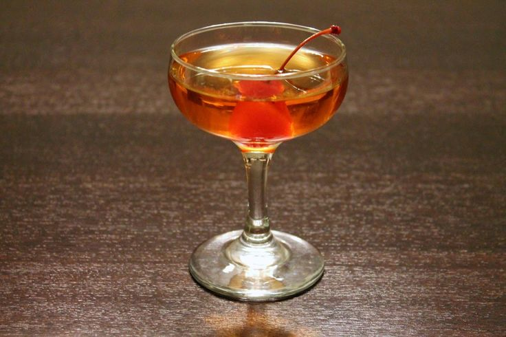 Oscar Cocktails: The Grand Budapest Hotel - a drink the hotel could have served, complete with Hungarian liqueur