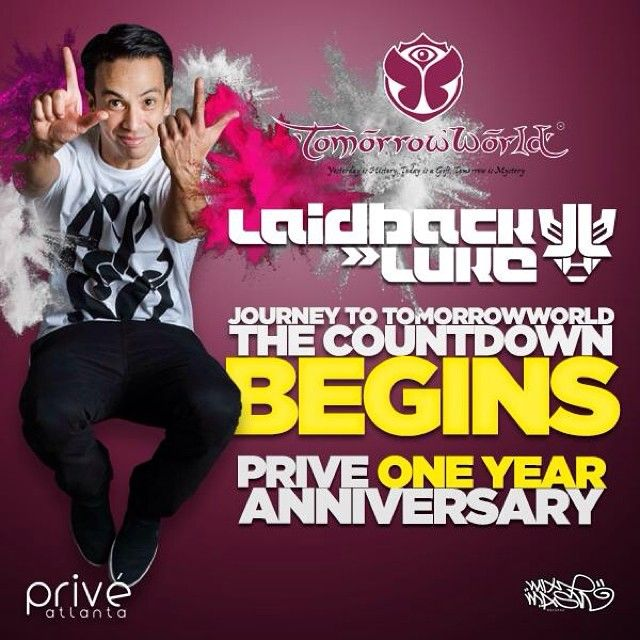 Believe ittttt ! Just announced we're partnering with @tomorrowworld for the @priveatlanta One Year Anniversary with our friend @laidbackluke! Def going to sell out. Hurry. PriveNightclub.come [code: primetime] LEH GO ATLANTA! @reloadatl @thekicker @mitulpatl #reloadatl #tomorrowworld #laidbackluke #enoughsaid #nomoreneedforhashtags #notdone #takingover #edm #atl #Tomorrowworld Check more at…