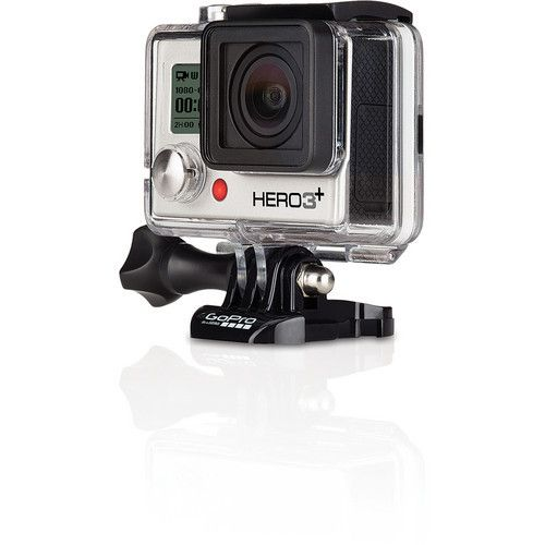GoPro 3 Silver Camera Factory Refurbished Full 1 Year Warranty