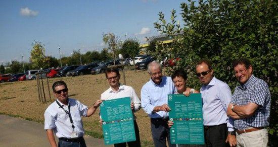 Biodiversité - Bettembourg, la petite prairie dans l'entreprise