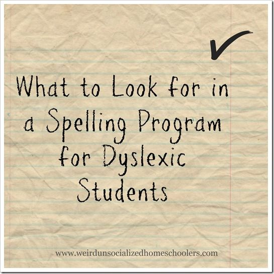"Along with difficulty reading, difficulty spelling is a hallmark of dyslexia. While dyslexia is something that can't be ""cured,"" there are a great number of tools to help a dyslexic overcome many of its challenges, including difficulty spelling:"