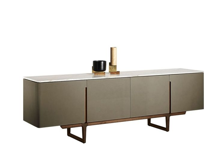 FIDELIO Sideboard Kollektion THE COLLECTION - Furniture and Complementary units by Poltrona Frau Design Roberto Lazzeroni