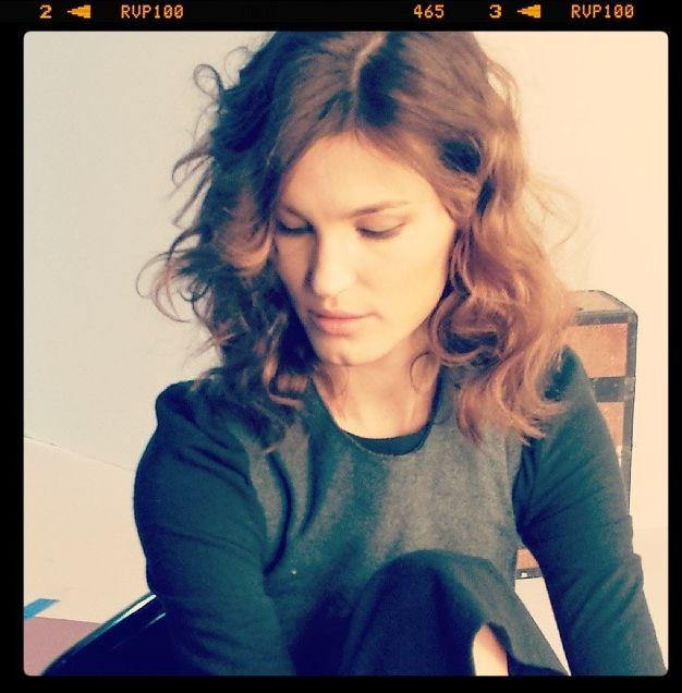Curls on Hanneli Mustaparta by Marco Santini #ionstudionyc #curly #lob