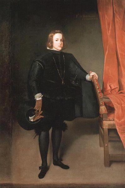 El príncipe don Baltasar Carlos por Juan Bautista Martínez del Mazo