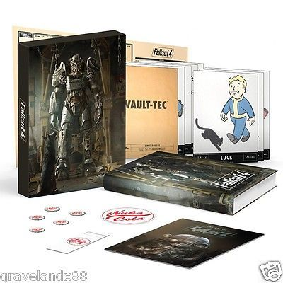 Fallout 4 Ultimate Vault Dwellers Survival Guide Bundle NEW SEALED