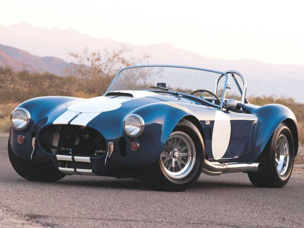 1967 Shelby Cobra 427... fastest car of its time.