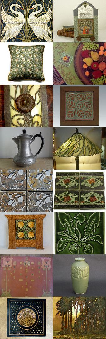 Arts and Crafts Design Movement by Debra L. Boudreau on Etsy--Pinned with TreasuryPin.com