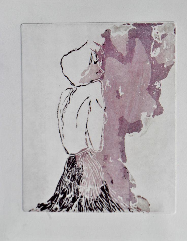 portraits of a forgotten lady on Behance by valentini mavrodoglou  #valentinimavrodoglou