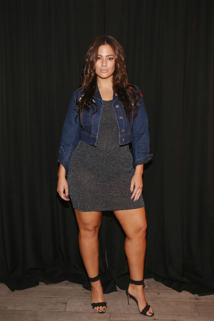 Plus Size Model Ashley Graham.