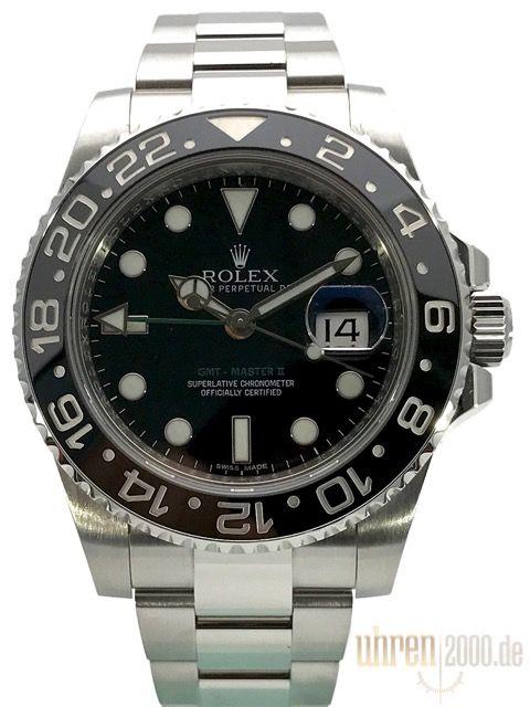 Rolex GMT-Master II 116710 LN Edelstahl gebraucht aus 2012