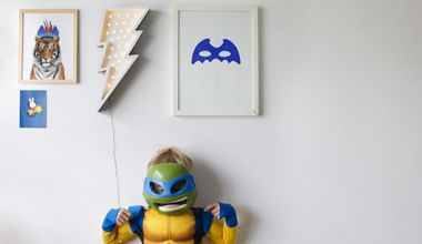 Petite Vegas Lighting Bolt Wall Lamp. The perfect wall art or wall lamp for children's interiors http://www.fromagelarue.com.au/collections/petite-vegas-letter-lights
