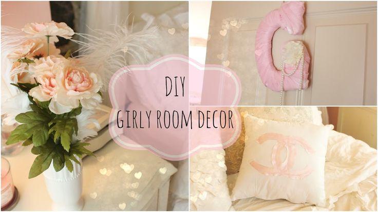 24 best gabriella martino images on pinterest gabriella for Diy girly room decor