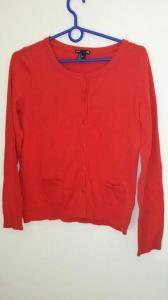 Licytuj na allegro.pl już od 12,00 zł - Czerwony sweterek H&M (5629530663). Allegro.pl - Radość zakupów i 100% bezpieczeństwa dla każdej transakcji!