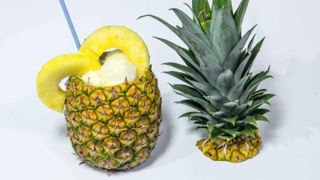 Sorbetto di Ananas analcolico