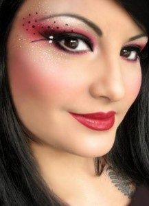 Ladybug makeup for my halloween costume...