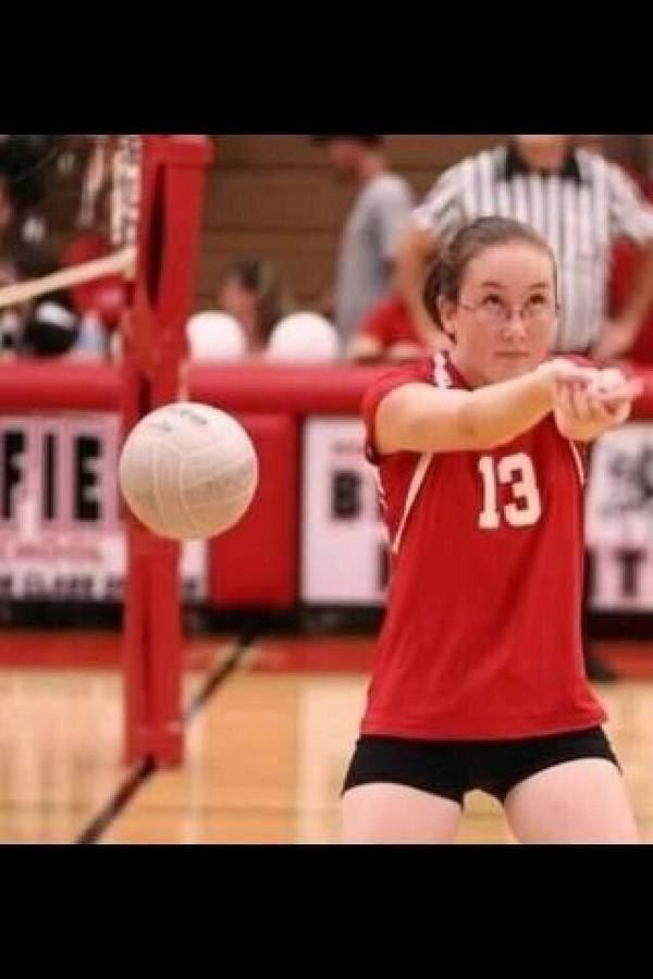 This is me playing volley ball.    Or pretty much any sport