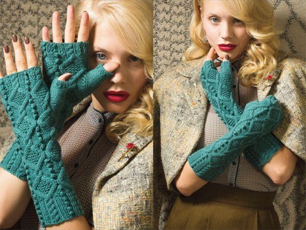 Митенки с одним пальцем из Vogue knitting вязаные спицами / Перчатки-митенки являются главным трендом нынешнего сезона. Они удобные, практичные и выглядят на изящных ручках очень привлекательно. Митенки, в отличие от строгих элегантных перчаток придадут вашему образу игривости. Митенки стильные и[...]