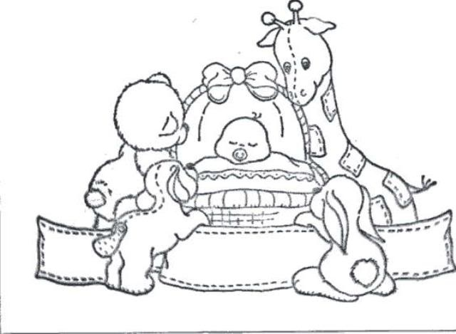 baby carriage coloring pages - photo #47
