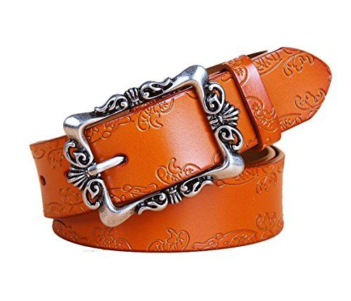 IVERIRMIN Classic Floral Embossed Women Leather Belts for... https://www.amazon.com/dp/B071DRJRZ9/ref=cm_sw_r_pi_dp_x_dMxdzbGHF8SEK