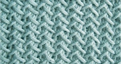 Knitted in a multiple of 3 sts, +1 and 2-row repeat.  Row 1 (Right Side): Knit 1, * yarn over, slip 1, knit 2,pass the slipped stitch ov...