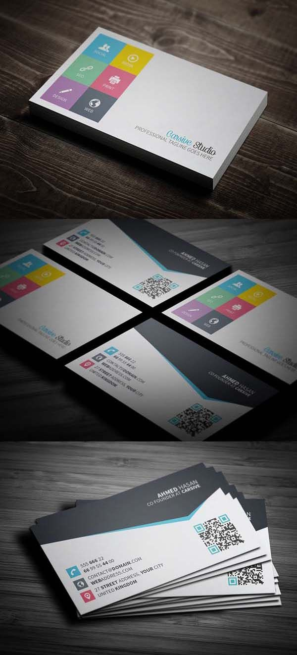 Examples business cards - 36 Modern Business Cards Examples For Inspiration 15 Businesscards Visitingcards Corporateidentity