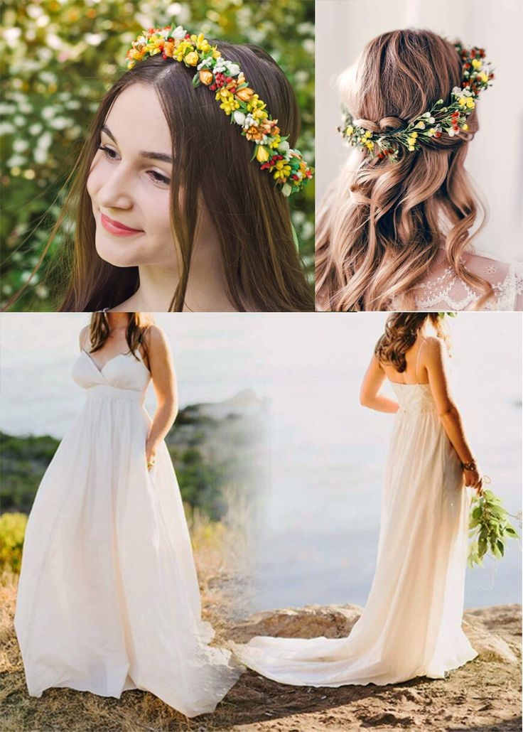 Vinok Bright Ukrainian Flower Crown by Marta Vorobets  Lviv, Ukraine.   https://www.etsy.com/listing/387206906/vinok-bright-ukrainian-headband-tulip?&utm_source=google&utm_medium=cpc&utm_campaign=shopping_us_-weddings-free&utm_custom1=00871619-e24e-463d-876a-e6ac3d36bbba&gclid=Cj0KCQjws-LKBRDCARIsAAOTNd7zRQI8iFc-5cZksb6to3a6EYQfzP0Am8nQJwQzi5TsO-ReoyQt-vgaApzTEALw_wcB  The Eleanor wedding gown by Celia Grace.