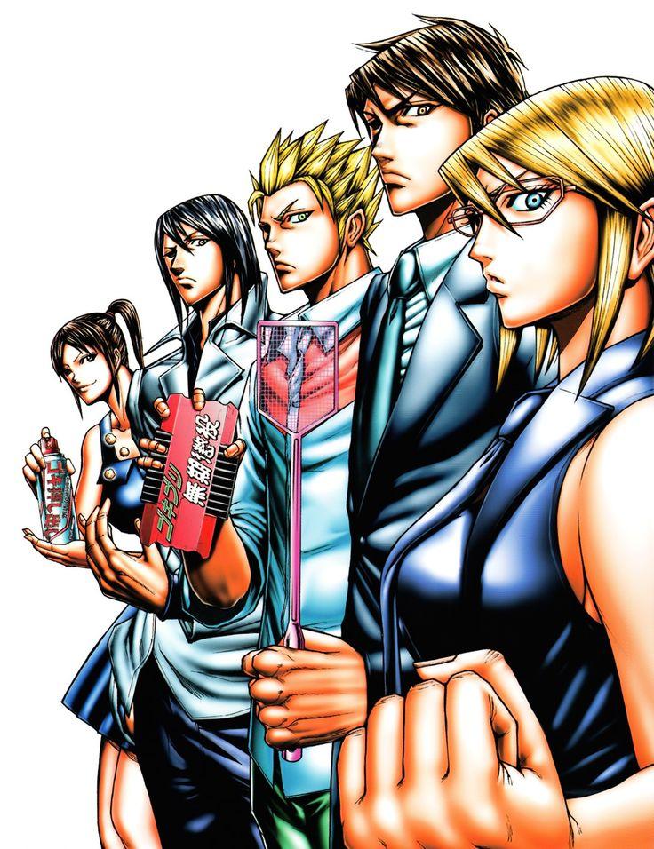 Terra Formars Review Terra formars, Anime, Anime episodes