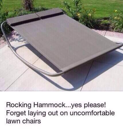 Rocking hammock