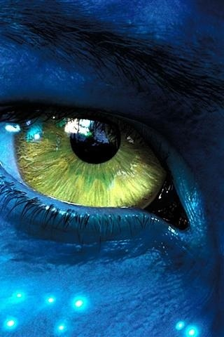Avatar.. this is jakes eye not neytiris-.-