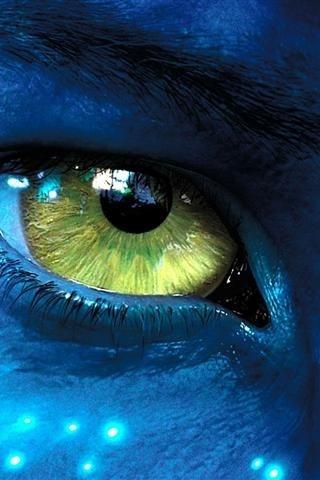 Avatar.. this is jakes eye not neytiris-.-