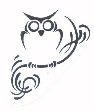 Art Tattoos Zone: Tribal Owl Tattoo Designs tattoo-ideas