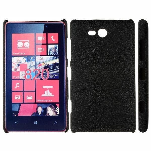 Feather Shell (Sort) Nokia Lumia 820 Deksel