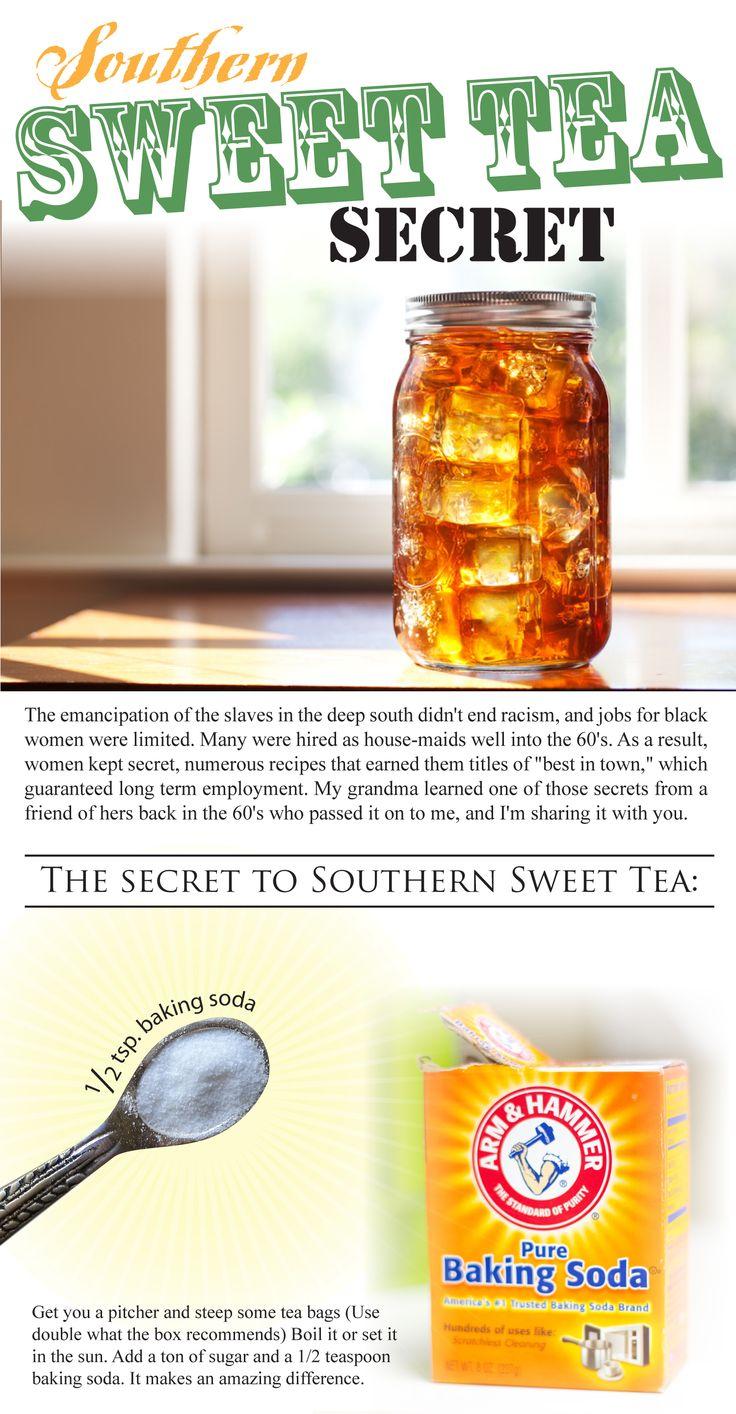 Secret recipe for Southern Sweet Tea