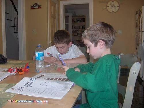 How to Make a Kids Homework Desk