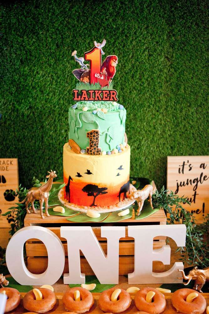 The Lion King Jungle Birthday Party Ideas Jungle Birthday Party