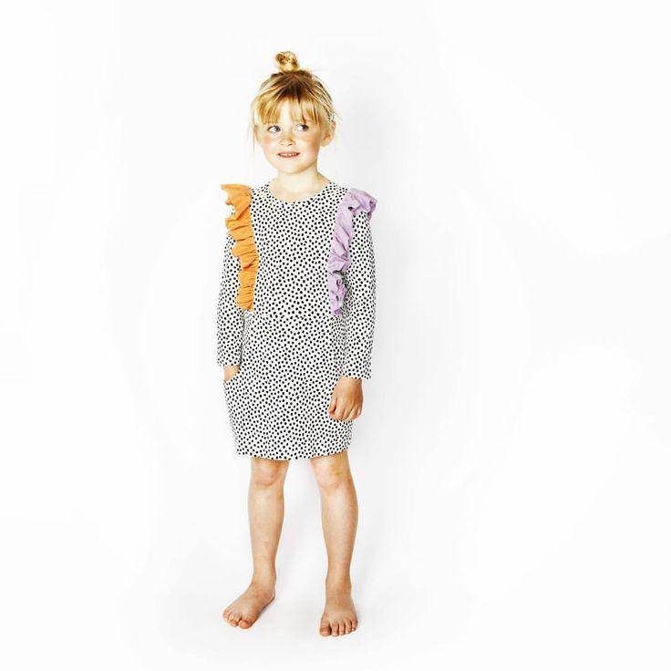 Old time favorite in new print #butterflydress #dots #dress #bangbangcopenhagen