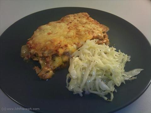 LCHF-Recept: Zucchinilasagne