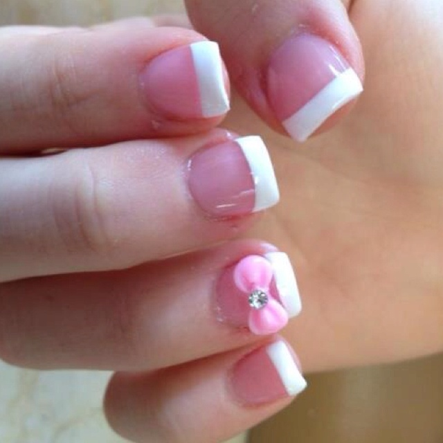 cute nails with bows wwwimgkidcom the image kid has it