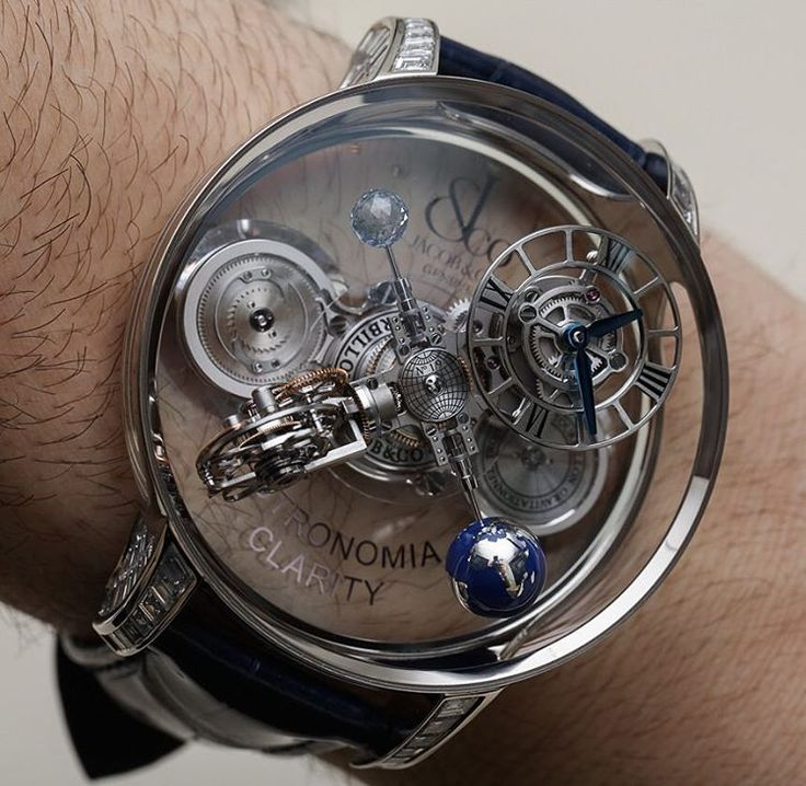 Jacob & Co. Astronomia Clarity.