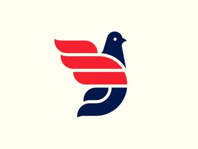 Unused Pigeon Logo.