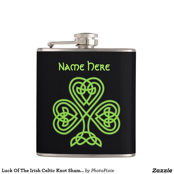 Luck Of The Irish Celtic Knot Shamrock