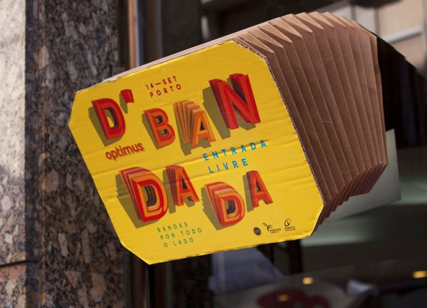 Optimus D'Bandada 2013 by This is Pacifica , via Behance