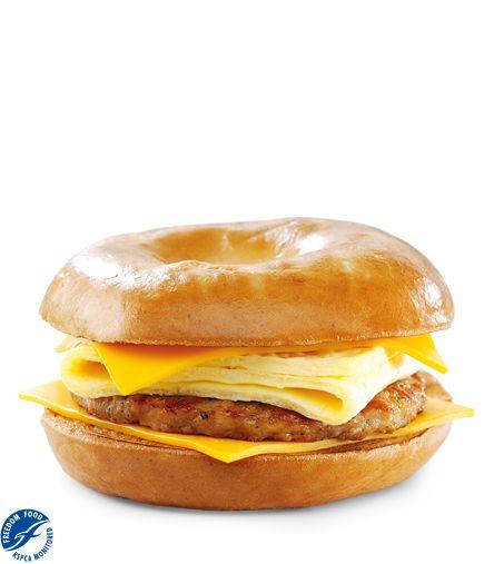 Sausage, Egg & Cheese Bagel :: McDonalds.co.uk
